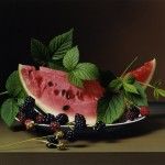 Early American, Watermelon and Blackberries, 2009