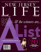 NJ Life Magazine's A-List cover.